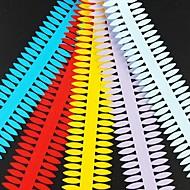 5pcs 4cm x 51cm naaldvormige bloemblaadje quilling papier set creatieve diy origami papier-rollen