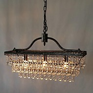 60 Chandelier ,  Traditional/Classic Electroplated Feature for Crystal Metal Bedroom Dining Room Study Room/Office Hallway