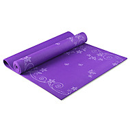6MM PVC Printing Fitness Yoga Mat