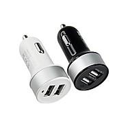 akıllı telefonlar ve sekmeler için çift USB araç çakmak güç adaptörü