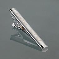 gift groomsman gepersonaliseerde heren geschenk zilver metaal gegraveerd das clip met geschenkdoos