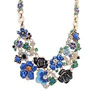 פרחים יפים ושרשרת מתוקה פסטורלית אופנה בסגנון (יותר צבעים)