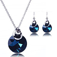 Women's Alloy Jewelry Set Crystal