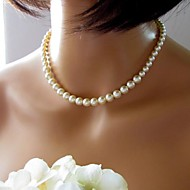 Ladies'/Women's Pearl Necklace Anniversary/Wedding/Birthday/Gift/Party/Daily/Special Occasion/Causal/Office & Career/Outdoor Pearl