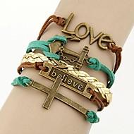 Women's Fashion Bracelet Alloy/Rope Non Stone