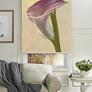 картина маслом стиль элегантный лаванда цветочный ролик тени