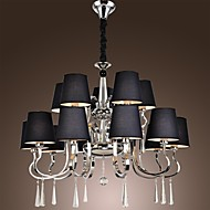 Chandelier ,  Modern/Contemporary Traditional/Classic Rustic/Lodge Vintage Country Island Chrome Feature for Candle Style MetalLiving