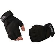 ESDY® כפפות ספורט/ פעילות לגברים / כל כפפות רכיבה אביב / סתיו / חורף כפפות אופניים שמור על חום הגוף / נגד החלקה / מגן / טקטי בלי אצבעות