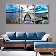 Personalized Canvas Print Coast 35x50cm 40x60cm  Framed Canvas Painting Set of 3