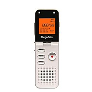 megafeis 8gb 50m lunga distanza professionale registratore vocale digitale / pcm mp3 / dsp / ora / una chiave di registrazione