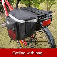 oeste biking® acessórios bicicleta impermeável duffle sela saco de bicicleta traseiro anquinhas