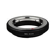 montaje de la lente MD-EOS adaptador Minolta MD MC Rokkor al canon eos 1ds 1D Mark II III IV 5d 40d cámara DSLR