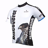 PaladinSport Men's Cycling Jersey Short Sleeves Eagle Spring and Summer Style 100% Polyester