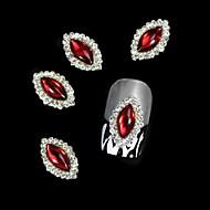 10st rood marquise diy legering accessoires nail art decoratie