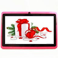 7 אינץ' Android 4.4 Tablet (Quad Core 800*480 512MB + 4GB)