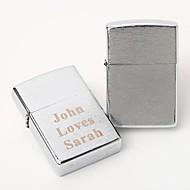 personalisierte gravierten silbernen Ölfeuerzeug