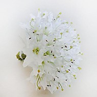 Elegant  The 36 Branch Big-Sized Lily  Hand-tied Satin Bridal Wedding  Bouquets