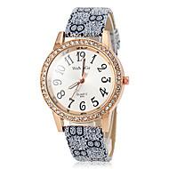 Women's Quartz Vintage PU Band Diamante Case Wrist Watch (Assorted Colors) Cool Watches Unique Watches