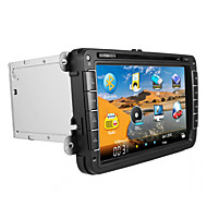 """CHTECHI-8"""" 2 Din Touch Screen LCD Car DVD Player For Volkswagen general 2003-2012 With Bluetooth,GPS,iPod,Radio,ATV"""