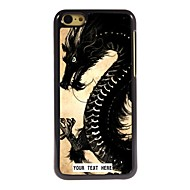 Personalized Phone Case - Dragon Design Metal Case for iPhone 5C