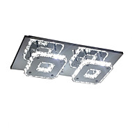 16W Flush Mount ,  Modern/Contemporary Electroplated Feature for LED Metal Bedroom / Dining Room / Hallway