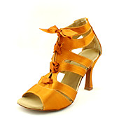 Customized Satin Latin/Ballroom Fashion Dance Performance Shoes For Women (More Colors)