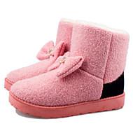 damesko sne støvler flad hæl ankelstøvler flere farver