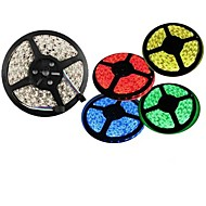 Waterproof 5M 300X3528 Smd Warm White Red Green Blue Yellow LED Strip Light (DC12V)