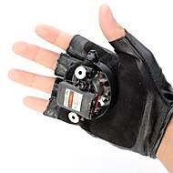 LT-8885 double vír fialový vír laserové rukavice (4mw.405nm.built Li-ion battery.black)