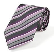 Krawat-Dla mężczyzn-Imprezowa / Do biura / Na co dzień-Inne-Prążki