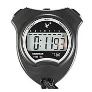 2 geheugens 1 / 100s enkele lijn 6-cijferige 24h digitale stopwatch voor sport sprong tf307