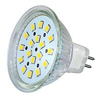 MR16 5W 18LEDS 260LM 6000-6500K Cool White Color Light LED Spot Bulb(DC/AC8-24V)