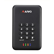 "MAIWO 2.5"" USB 3.0 SATA Encryption Keys External Hard Drive HDD Enclosure K2533"