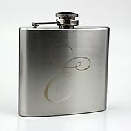 personalisierte Edelstahl 5-Unzen Hüfte flask- Initialen