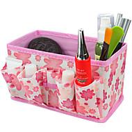 taitto quadrate kosmetiikka Varastointiteline laatikko meikki harja potin kosmeettisia järjestäjä (3 väriä valita)