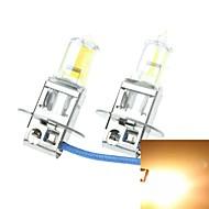 H3 pk22s 100W stavljene žute automobil prednja svjetla Prednja svjetla za maglu 12V (1 par žarulja)