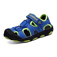 Boy's Spring / Summer Slide / Comfort / Open Toe Leatherette Flat Heel Magic Tape Blue / Green / Pink