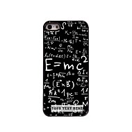 gepersonaliseerde telefoon case - formule ontwerp metalen behuizing voor de iPhone 5 / 5s