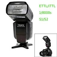triopo st-982ii c E-TTL sync master / slave høj hastighed 1 / 8000s flash Speedlite til Canon DSLR-kamera