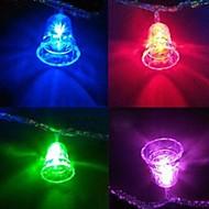 Vánoční zvonky 4,5m 28 vedl barevné řetězec světla