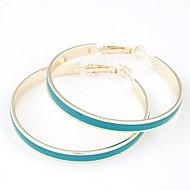 European Style Fashion Metal Elegant Simplicity Big Circle Earrings(More Colors)