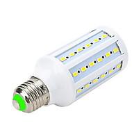 12W E26/E27 תאורת ספוט לד / נורות גלוב לד / נורות תירס לד T 60 SMD 5730 1000-1200 lm לבן חם AC 220-240 V