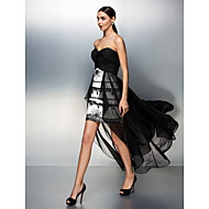 Prom/Formal Evening Dress - Multi-color A-line Strapless Floor-length Chiffon