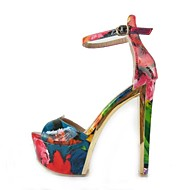 Women's Spring / Summer / Fall Heels / Peep Toe / Platform / Open Toe / Ankle Strap Patent Leather / Leatherette Party & EveningChunky
