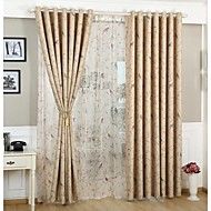 Country Curtains® Room Darkening Printing Flower And Bird Curtains Drapes Two Panel