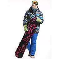 Heren 3-in-1 jacks / Winterjack / Pakken/Kledingsets Skiën / Kamperen&Wandelen / Afdaling / Langlauf / SneeuwsportenWaterdicht / Ademend