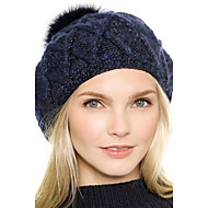 Women Polyester Beret Hat , Casual Winter
