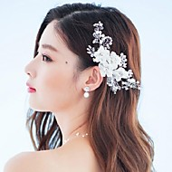 Women's Rhinestone/Crystal/Alloy/Fabric Headpiece - Wedding/Special Occasion/Outdoor Flowers/Barrette