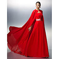 TS Couture® Prom / Formal Evening Dress - Ruby Plus Sizes / Petite A-line Strapless Floor-length Chiffon