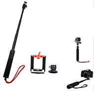 3-in-1 verstelbare handheld Selfie monopod voor camera / mobiele telefoon / GoPro hero 2/3/3 +